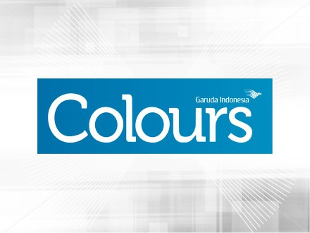 Majalah COLOURS Garuda Indonesia