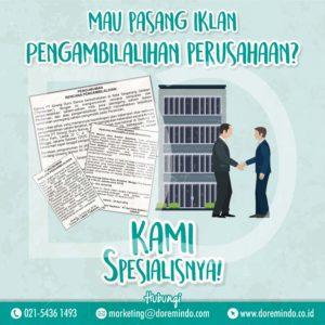 Iklan Koran Doremindo Agency Do A Pasang Iklan