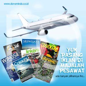 Iklan Majalah Pesawat