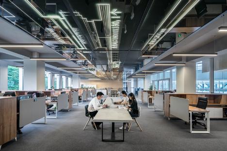 Ilustrasi Ruang Kerja Modern